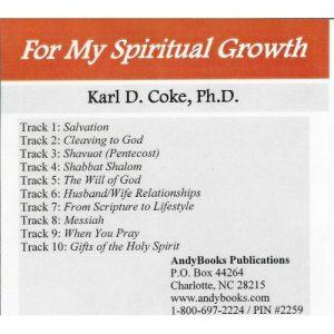 For My Spiritual Growth MP3-500x500